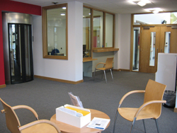Photo: Carers' Reception Area