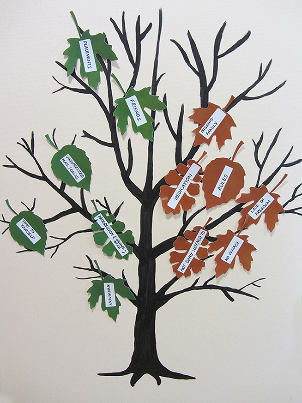 Photo: Recovery Tree by patients