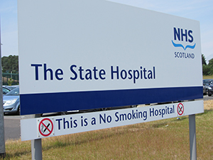 Photo: State Hospital Sign